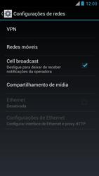 Como ativar e desativar uma rede de dados - Motorola RAZR MAXX - Passo 4