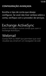 Como configurar seu celular para receber e enviar e-mails - Nokia Lumia 920 - Passo 9
