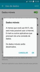 Como ativar e desativar uma rede de dados - Samsung Galaxy S6 - Passo 5