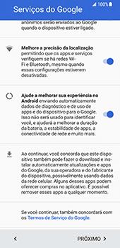 Como ativar seu aparelho - Samsung Galaxy S8 - Passo 7