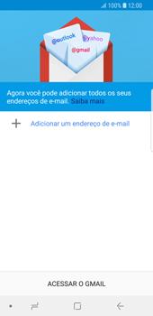 Como configurar seu celular para receber e enviar e-mails - Samsung Galaxy S9 - Passo 6