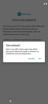 Como configurar pela primeira vez - Motorola Moto G8 Power - Passo 15