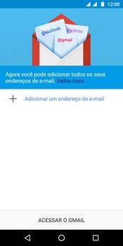 Como configurar seu celular para receber e enviar e-mails - Motorola Moto G6 Plus - Passo 5