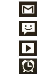 Explicação dos ícones - LG Optimus L3 II - Passo 22