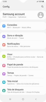 Como definir um aviso e limite de uso de dados - Samsung Galaxy A32 5G - Passo 3
