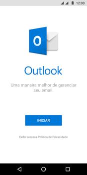 Como configurar seu celular para receber e enviar e-mails - Motorola Moto G6 Play - Passo 4