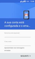 Como configurar seu celular para receber e enviar e-mails - Alcatel Pixi 4 - Passo 13