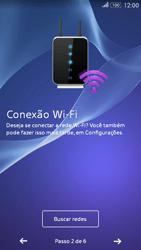 Como configurar pela primeira vez - Sony Xperia E4G - Passo 6