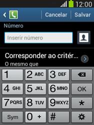 Como bloquear chamadas de um número específico - Samsung Galaxy Pocket - Passo 9