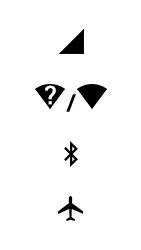 Explicação dos ícones - Motorola Moto X4 - Passo 2