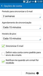 Como configurar seu celular para receber e enviar e-mails - Samsung Galaxy Grand Prime - Passo 15