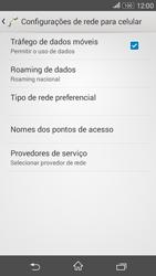 Como configurar a internet do seu aparelho (APN) - Sony Xperia E4G - Passo 5