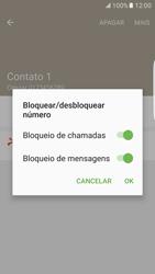 Como bloquear chamadas de um número específico - Samsung Galaxy S7 Edge - Passo 9