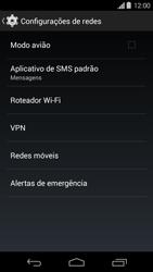 Como configurar a internet do seu aparelho (APN) - Motorola Moto G (1ª Geração) - Passo 4