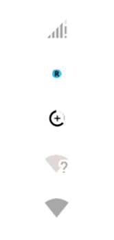 Explicação dos ícones - Motorola Moto G7 Power - Passo 3