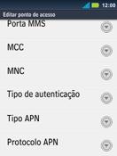 Como configurar a internet do seu aparelho (APN) - Motorola Master - Passo 13