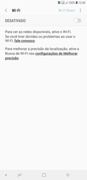 Como configurar uma rede Wi-Fi - Samsung Galaxy J4+ - Passo 5
