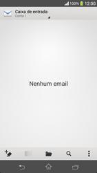 Como configurar seu celular para receber e enviar e-mails - Sony Xperia SP - Passo 4