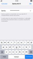 Como usar seu aparelho como um roteador de rede Wi-Fi - Apple iPhone 7 - Passo 4