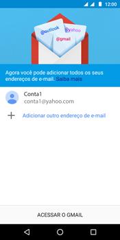 Como configurar seu celular para receber e enviar e-mails - Motorola Moto G6 Play - Passo 13