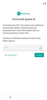 Como configurar pela primeira vez - Motorola Moto G8 Power - Passo 14