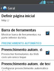 Como configurar a internet do seu aparelho (APN) - LG Optimus L3 II - Passo 26