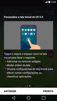 Como configurar pela primeira vez - LG G5 Stylus - Passo 15