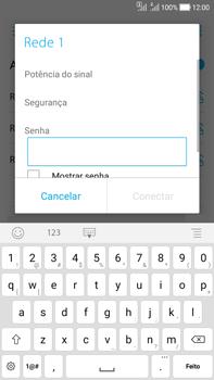 Como configurar uma rede Wi-Fi - Asus Zenfone Selfie - Passo 6