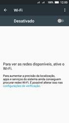 Como configurar uma rede Wi-Fi - Lenovo Vibe C2 - Passo 4