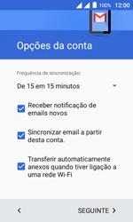 Como configurar seu celular para receber e enviar e-mails - Alcatel Pixi 4 - Passo 21