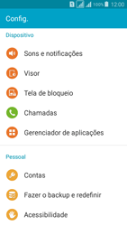Como bloquear chamadas de um número específico - Samsung Galaxy Grand Prime - Passo 4