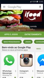 Como baixar aplicativos - Samsung Galaxy S7 - Passo 6