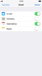 Como configurar seu celular para receber e enviar e-mails - Apple iPhone 8 - Passo 8