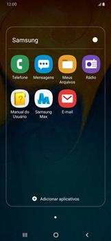 Como configurar seu celular para receber e enviar e-mails - Samsung Galaxy A20 - Passo 4