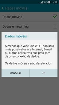 Como ativar e desativar uma rede de dados - Samsung Galaxy Note - Passo 6