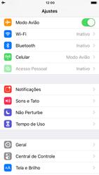 Como ativar e desativar o modo avião no seu aparelho - Apple iPhone 6 - Passo 3