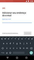 Como configurar seu celular para receber e enviar e-mails - Motorola Moto X4 - Passo 8