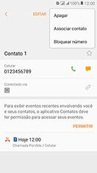 Como bloquear chamadas de um número específico - Samsung Galaxy J2 Prime - Passo 7