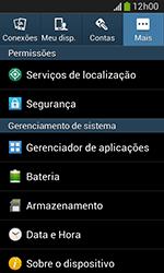 Como encontrar o número de IMEI do seu aparelho - Samsung Galaxy Grand Neo - Passo 4