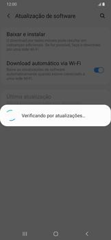 Como atualizar o software do seu aparelho - Samsung Galaxy A20 - Passo 6