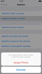 Como restaurar as configurações originais do seu aparelho - Apple iPhone 6 - Passo 6