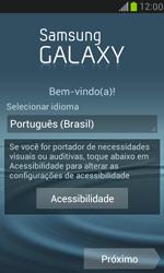 Como ativar seu aparelho - Samsung Galaxy S III Mini - Passo 4