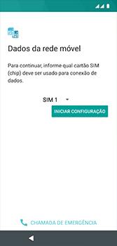 Como configurar pela primeira vez - Motorola Moto G7 - Passo 7