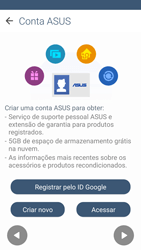 Como configurar pela primeira vez - Asus ZenFone 2 - Passo 14