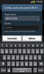 Como usar seu aparelho como um roteador de rede Wi-Fi - Samsung Galaxy Grand Neo - Passo 8