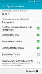 Como configurar seu celular para receber e enviar e-mails - Samsung Galaxy A5 - Passo 8