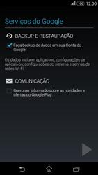 Como configurar seu celular para receber e enviar e-mails - Sony Xperia E4G - Passo 12
