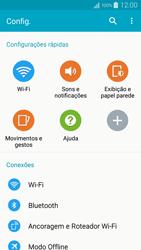 Como usar seu aparelho como um roteador de rede Wi-Fi - Samsung Galaxy A5 - Passo 3