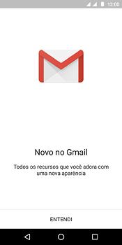 Como configurar seu celular para receber e enviar e-mails - Motorola Moto E5 - Passo 4