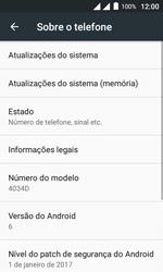 Como atualizar o software do seu aparelho - Alcatel Pixi 4 - Passo 5